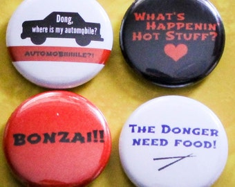 "Sixteen Candles (Donger Pack) Set of 4 - 1"" Pinback Buttons"