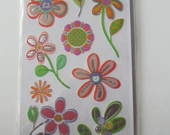 Scrapbooking embellishments stickers stickers - sheet of 11 stickers