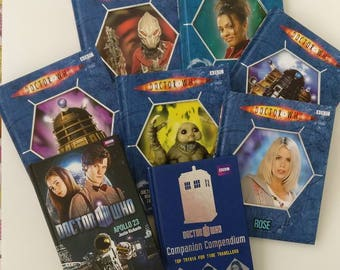 Doctor Who Notebooks - Handmade from well loved books
