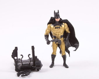 1990 Kenner Tec-Shield Batman from Dark Knight Collection ~ Pink Room ~ 160919