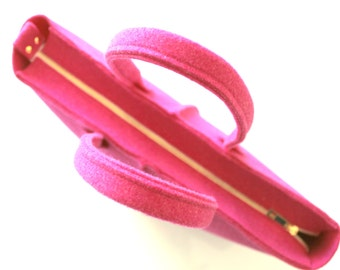 Zipper clousure for Elegant and Causal Wool Felt Bag