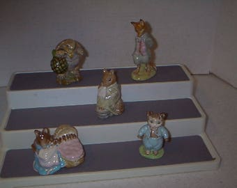 Collection of Beatrix Potter Collectable Figures #4