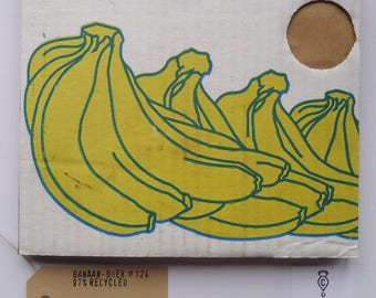 Banana Book No. 124 Sketchbook Recycled
