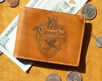 Customizable Ravenclaw Wallet - Engraved, Personalized, Harry Potter