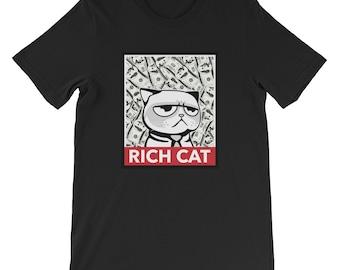 Rich Cat -  T-Shirt