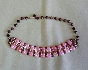 Vintage West German Choker Necklace
