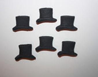 Fondant Top Hat