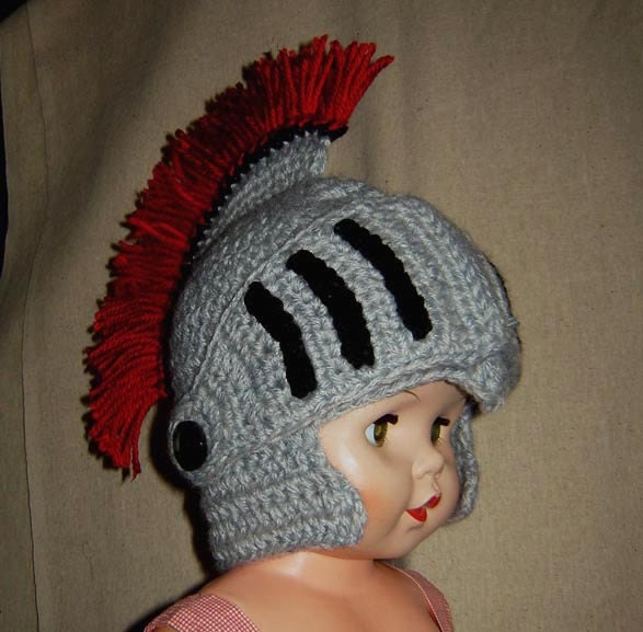 Knitted Knight Helmet Pattern Images Knitting Patterns Free Download