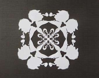 Sherlock Holmes Snowflake
