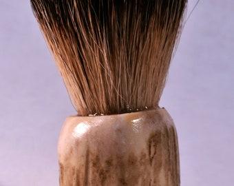 Colorado Deer Antler Silvertip Badger Hair Shaving Brush