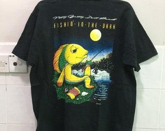 Vintage fisherman Nice design Tshirt