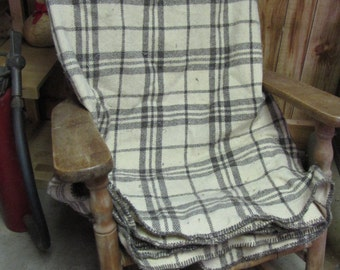 King size blanket custom made for us from our sheeps' wool.