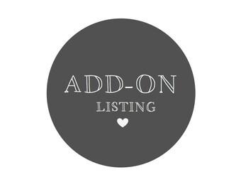ADD-ON Listing