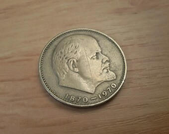 100 years of Lenin Birth,Soviet Coin, Collectible Coin  1970s