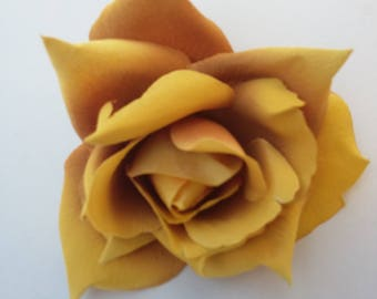 Gold Rose - wedding - millinery - home decor