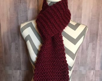 Red Wine Scarf