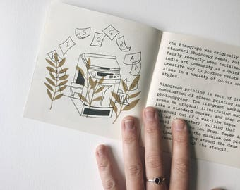 Quick N' Leafy Guide to Risograph Printing Zine