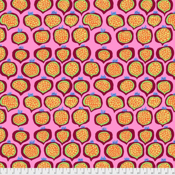 POMEGRANATE PINK Brandon Mably PWBM067.PINK  Sold in 1/2 yard increments