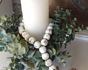 BEST SELLER - Farmhouse Beads | Home Decor Beads | Wood Bead Garland | Farmhouse Decor | Farmhouse Gifts