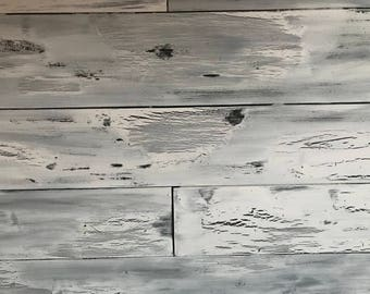 Distressed Panel real Hardwood Tongue and Groove