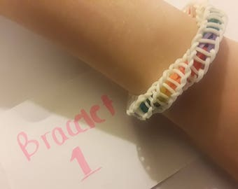 Helix Rainbow Loom Bracelet