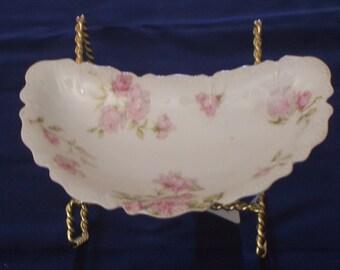 Vintage/Antique Haviland & Co. Limoges Scalloped Edge Bone Dish
