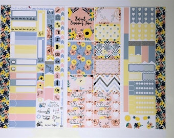 Summer Dreaming Personal Planner Sticker Kit: