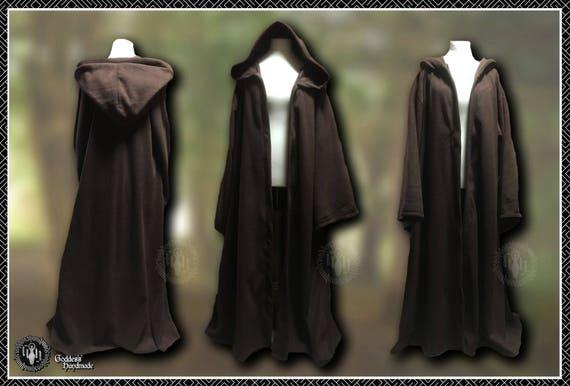 Polar Fleece Tendril Cloak, Cape, Ritual Wear, Witch, Druid, Wicca, Pagan, Hand fasting, Pagan Festival, Medieval