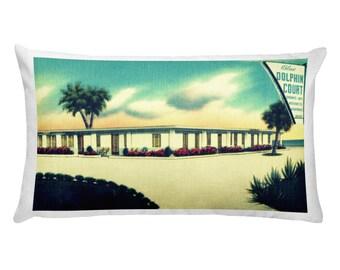 Mid Century Pillow Covers, Beach Gifts, Coastal Decor, Summer Pillows 12x20