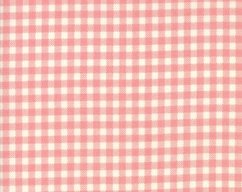 Howdy Gingham Pink from Howdy Collection by Stacy Iest Hsu for Moda Fabrics