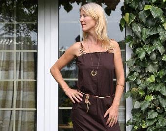 Tube dress, Wrap dress, Cotton dress, Crochet, Handmade dress, Summer dress, Hippie dress, boho dress, hipster dress,