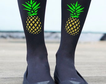 Pineapple Tights - Printed Tights