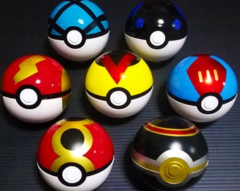 EXCLUSIVE HAND MADE Various Pokeball! Pokemon Lover Must have! Best cosplay props!