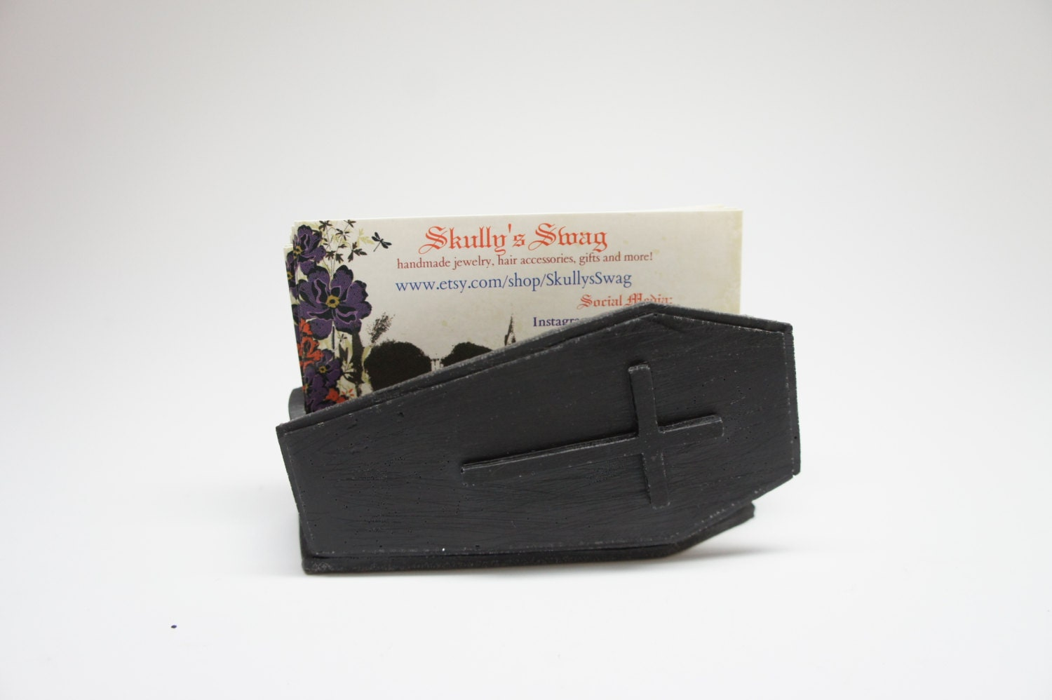 Coffin Business Card Holder Casket Card holder Mortician