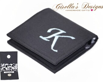 Personalized square business card holder custom made business charcoal square business card holder 2 x 2 225 x 225 25 x 25 256x256 or 3x3 custom made square business card case colourmoves
