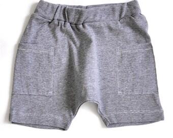 Boy Toddler Shorts - Toddler Boy Shorts, Toddler Shorts, Kids Shorts, Toddler Boys Clothes, Toddler Clothes - Denim Stripes