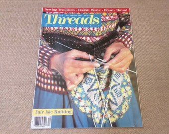 Threads Magazine December 1986 January 1987 Back Issue Number 8
