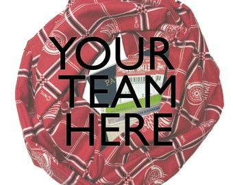 Your Team Here* | Custom Infinity Scarf With Hidden Pocket