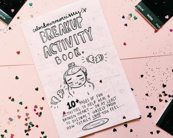 Breakup Activity Book Zine PDF