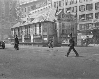 Times Square in New York , 1918