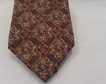 Vintage Christian Dior Neck Tie. All Silk from Italy Made in the USA Christian Dior Men's Tie. Designer Silk Neck Tie.