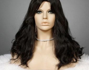 100% European Human Hair Jewish Sheitel Wig 20in modest