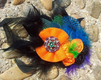 Bright Extravagant Feather Accessory
