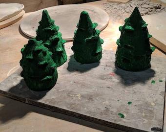 Decorative Christmas trees