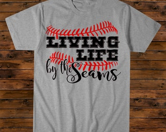 Living Life by the Seams Tee