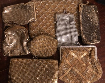 Lot of 8 vintage clutches/purses