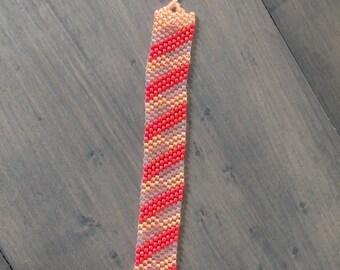 Oranges and cream bracelet