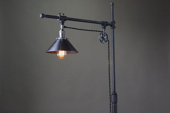 Marvelous Industrial Standing Lamp Reading Floor Lamp Pipe Lamp