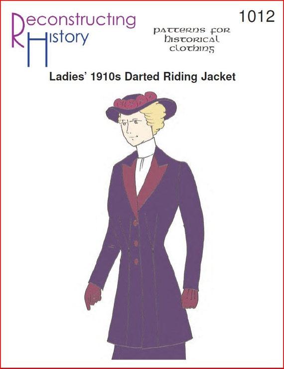 RC1012 - Era Titanic las señoras de la década de 1910 saltó patrón ...