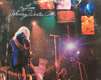 Johnny Winter And Live - vinyl record